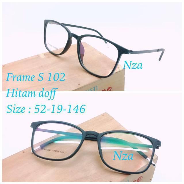 COKLAT TANPA BINGKAI KACAMATA BACA 102. frame kacamata minus pria wanita  guess 114 (frame+lensa) kaca mata anti radiasi fa7b8eddfc