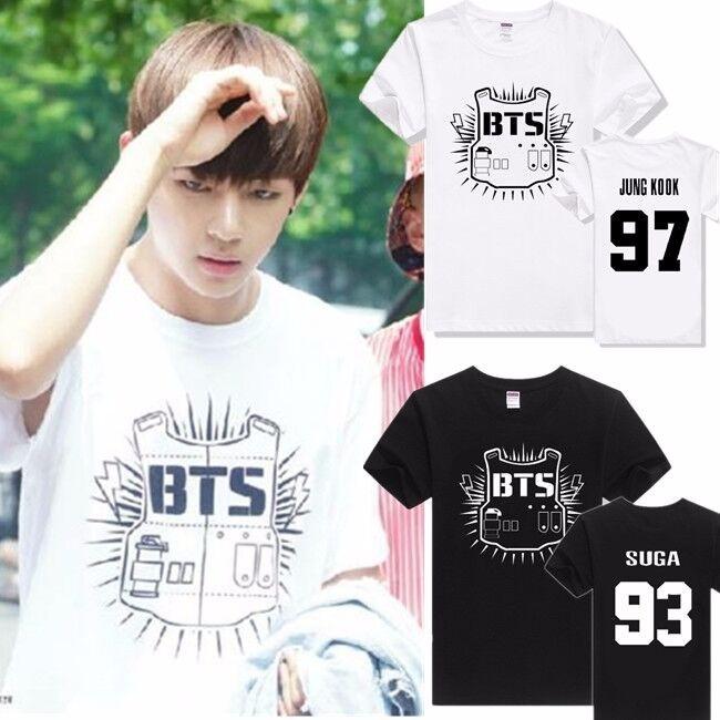 tshirt bts baju bts kaos bts member logo lama