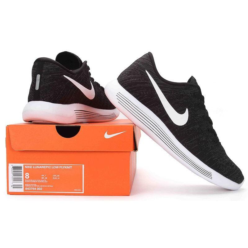 Sepatu Nike Lunarepic Low Mix Black Casual Premium  3bfa630e7f