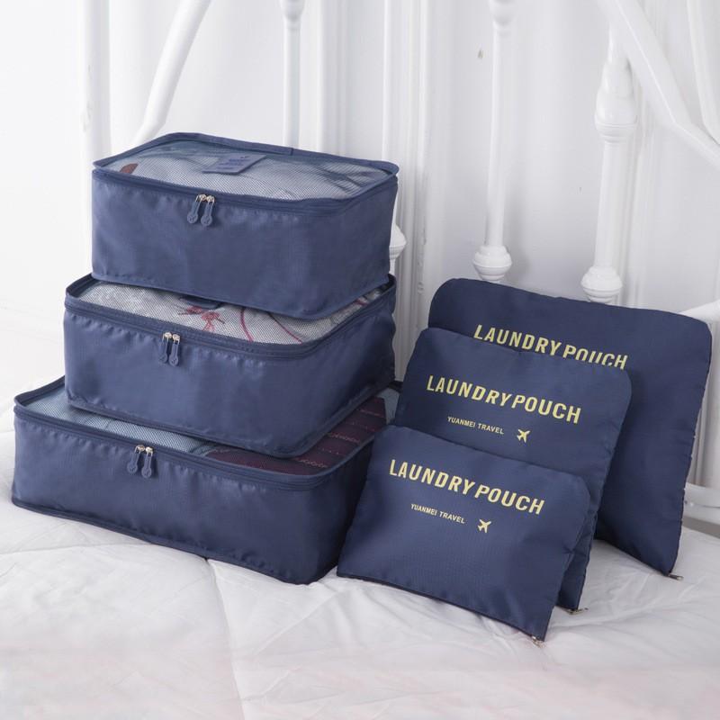 Freeknight Travel 6 In 1 Bag Set Storage Organizer Koper/ Tas Penyimpanan Travel [HARGA PROMO] TTB01   Shopee Indonesia