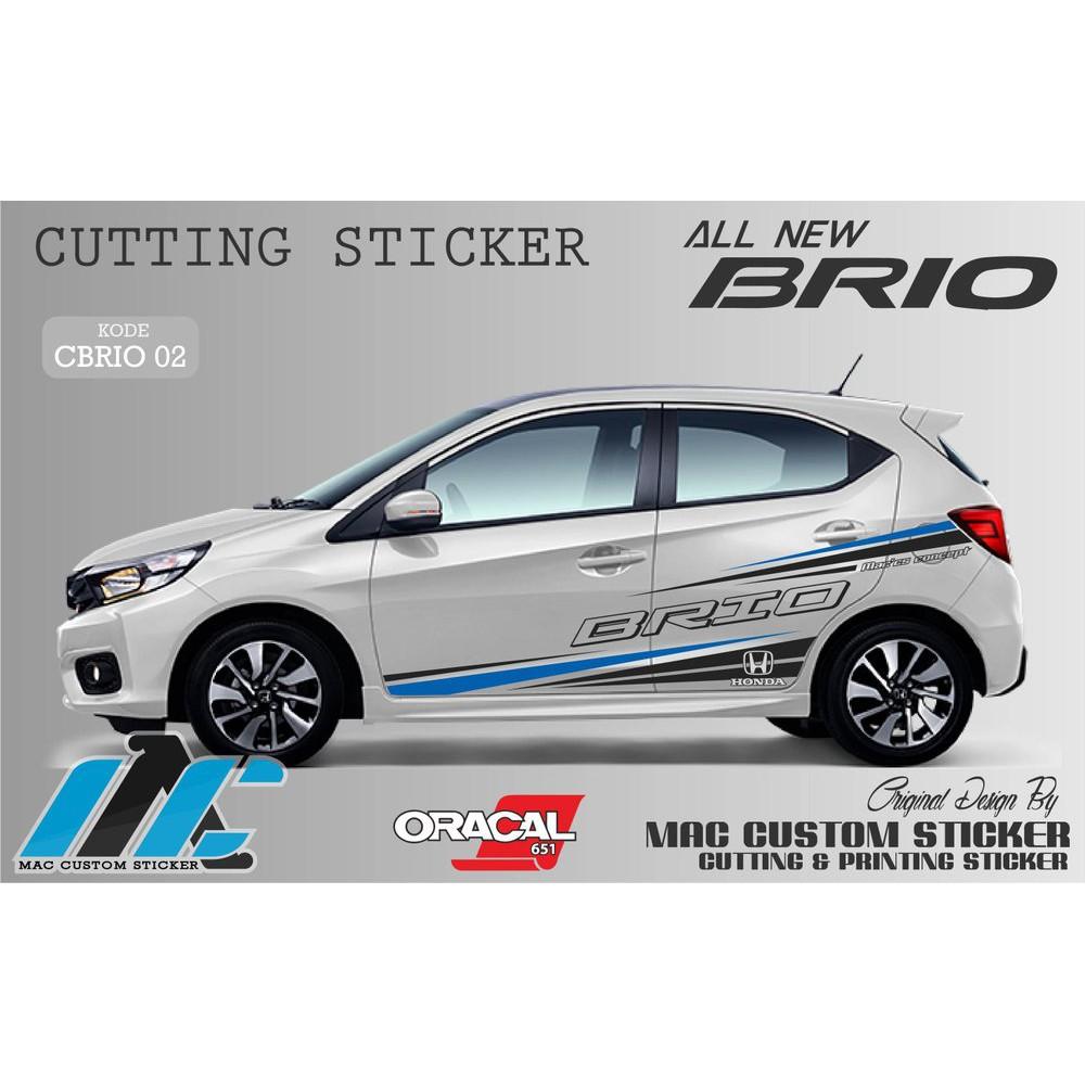 Stiker Mobil Brio List Keren Stiker Mobil Calya Ayla Sigra Xenia Sedan Ertiga Shopee Indonesia