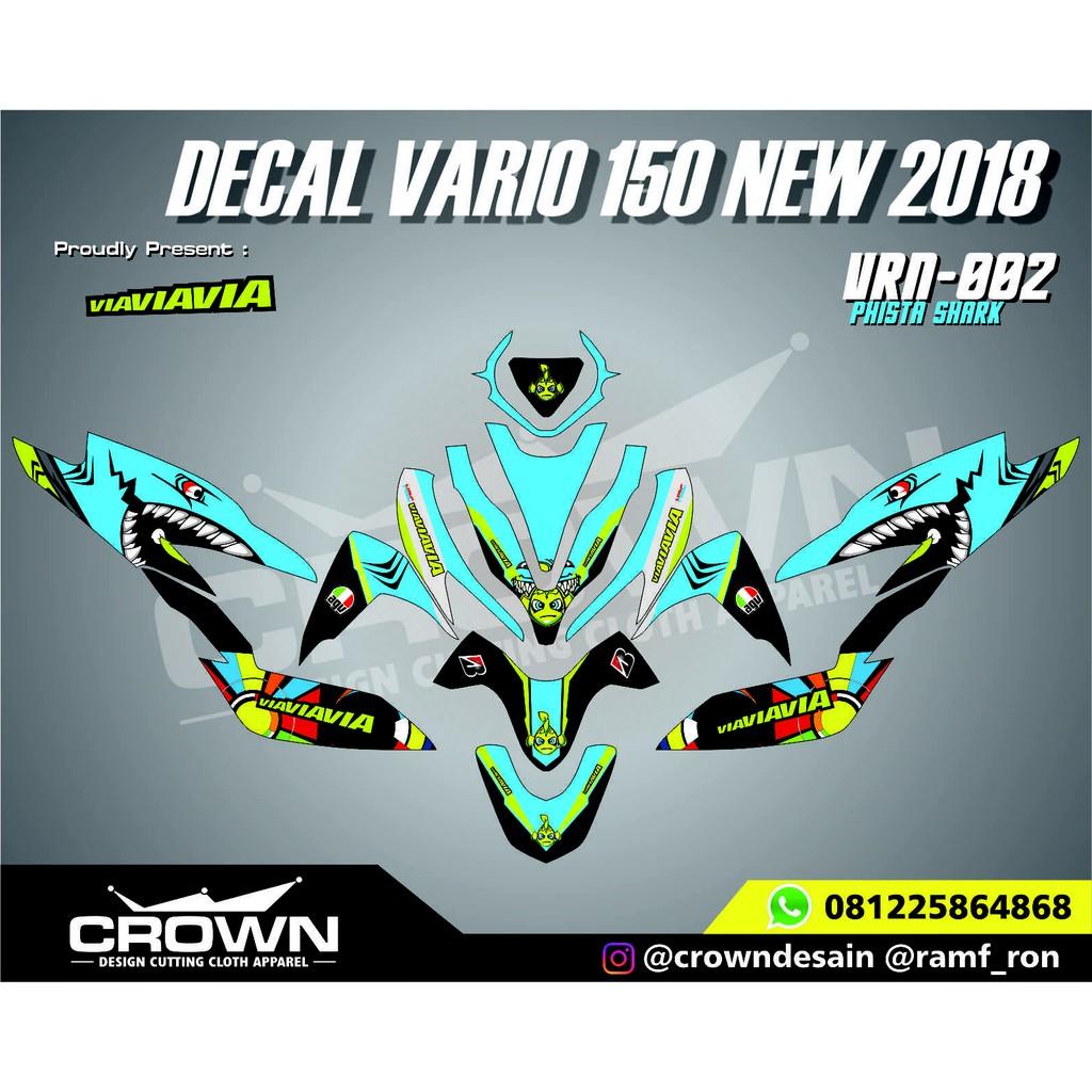 Decal Vario 150 New 2018 Matrix Evo Shopee Indonesia