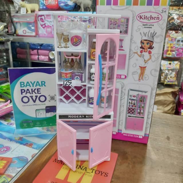 Mainan Masak Kitchenset Dapur Barbie Mainan Anak Perempuan Shopee Indonesia