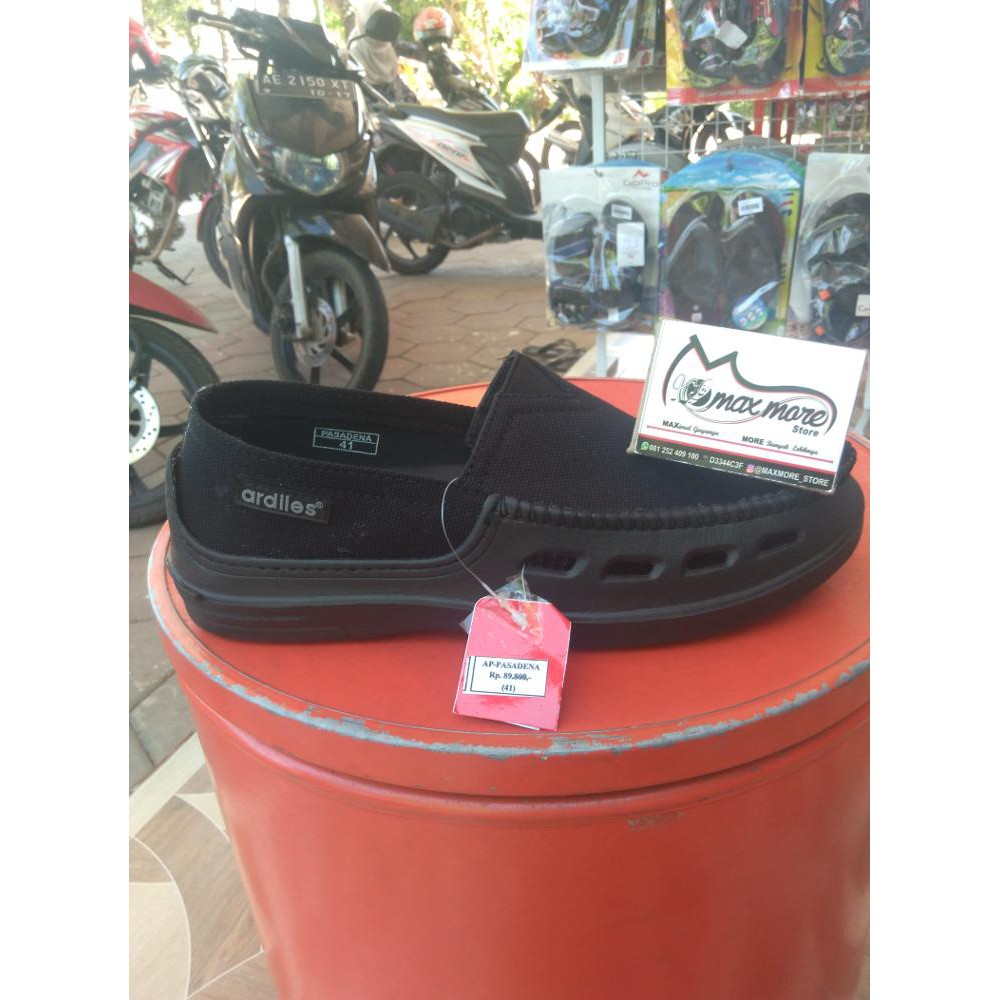 Ardiles Men Otsuka Sepatu Slip On Biru Shopee Indonesia Money Vesto Hitam 42