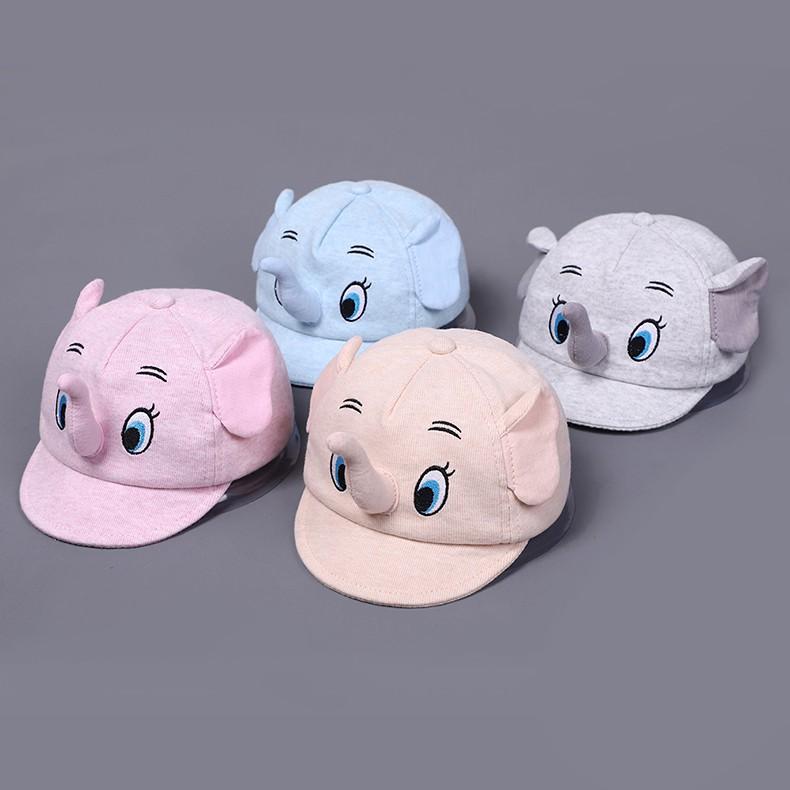 Topi Dengan Bordir Gambar Kartun Lucu
