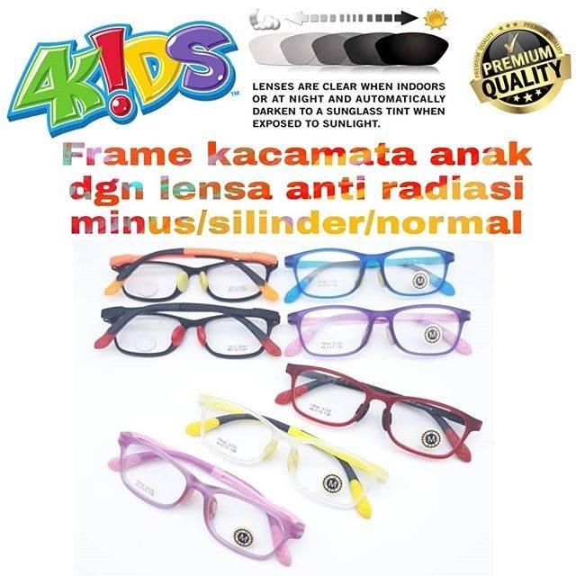 Jual kacamata paket frame kacamata dgn lensa anti radiasi lensa anti  blueray  d672edc39a