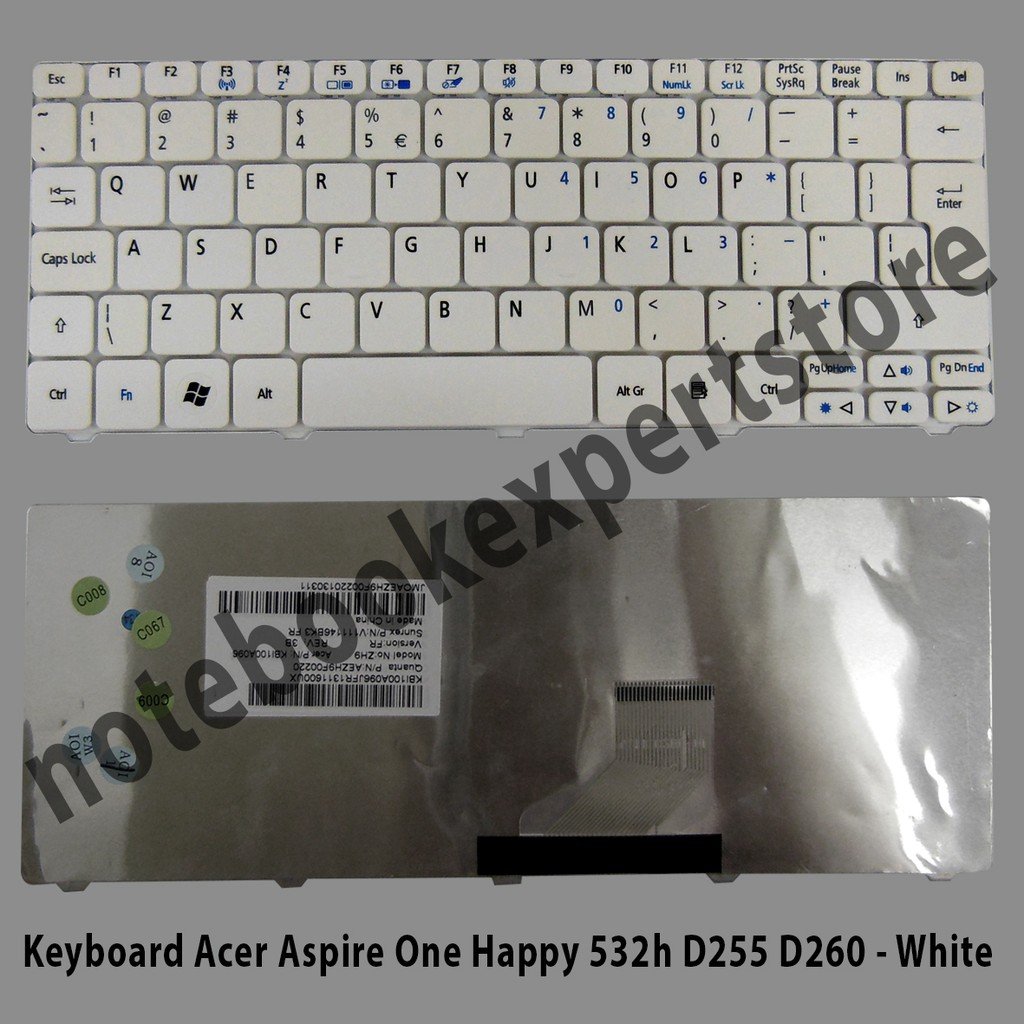 Keyboard Laptop Acer Aspire 4732 4732z Emachines D725 Shopee Indonesia One Z1401 14 Z1402 Series Hitam