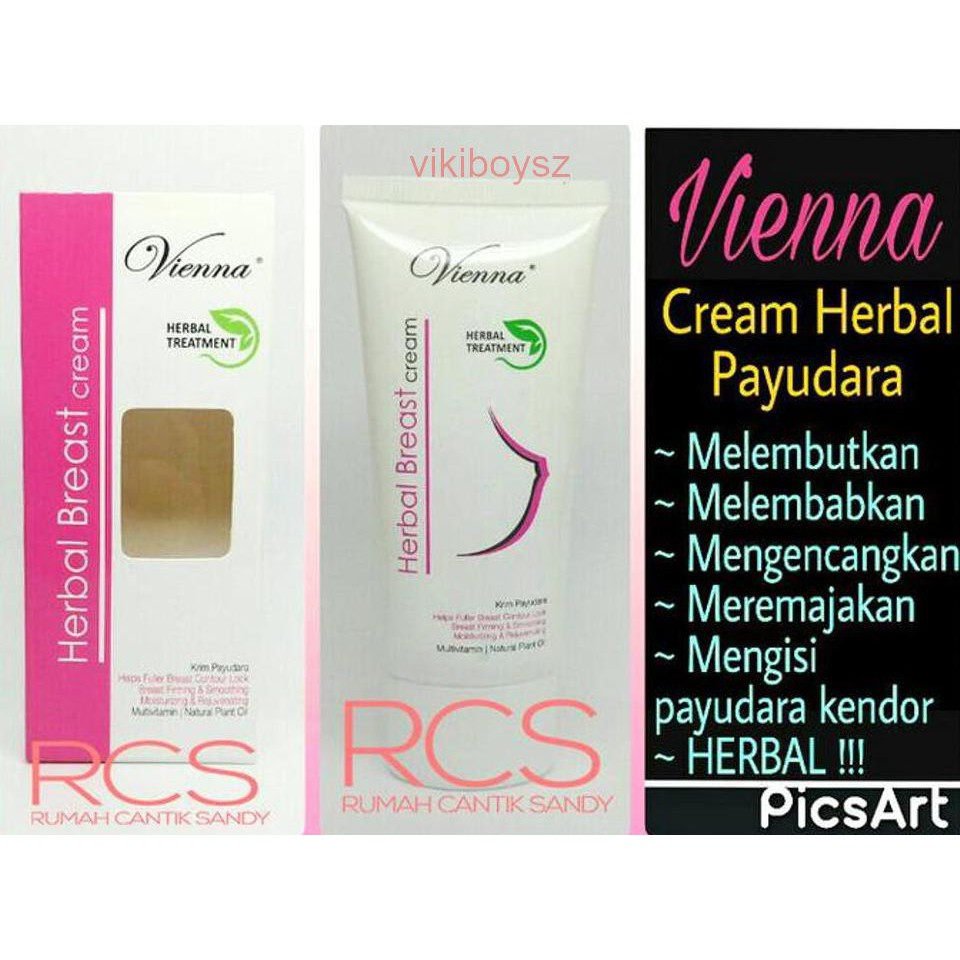 Ayla Breast Care Cream Perawatan Payudara Nasa Store Original Vienna Shopee Indonesia