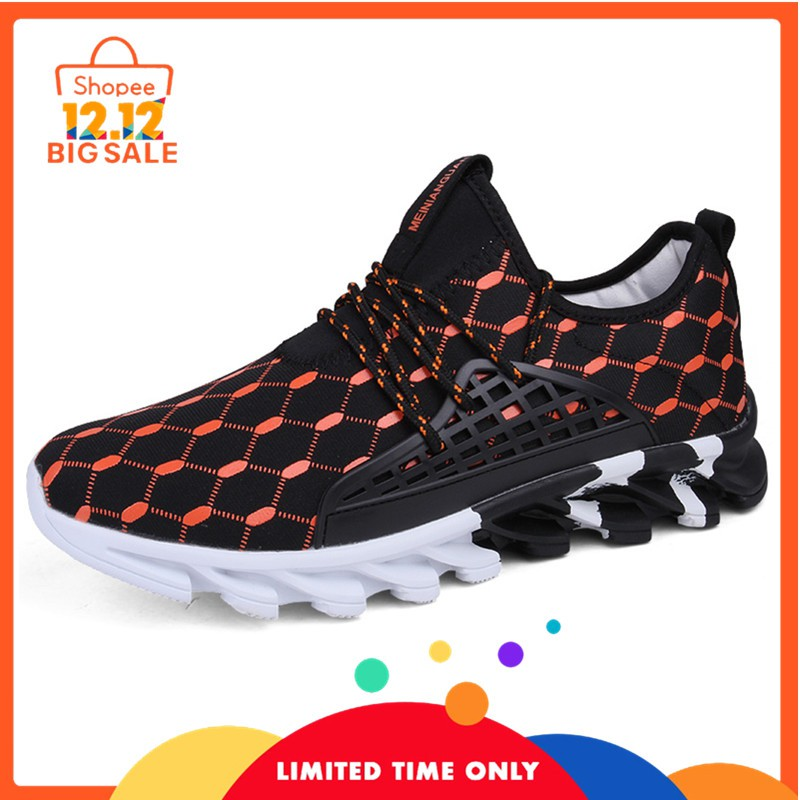 Fashion Pria  Sepatu Sneakers 4 Warna untuk Casual Lari Olahraga 39 ... 417905ca7d