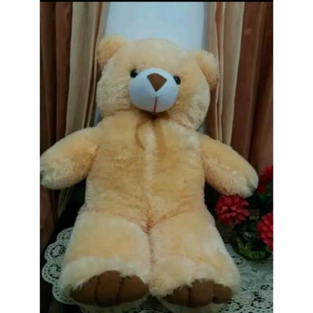 Boneka Teddy Bear Krem Besar (murah)  7cccaa9aa9