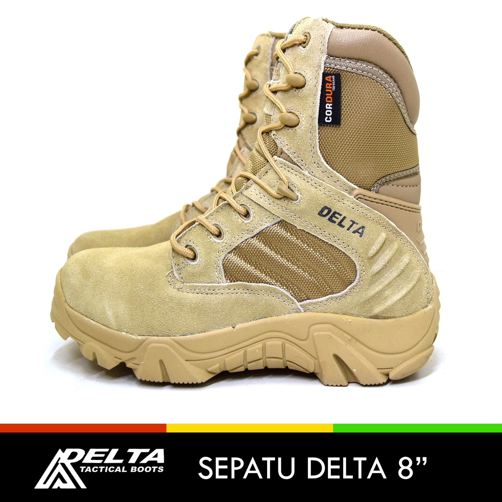Sepatu Delta 6in Import Gunung Outdoor Hiking Boots Gurun Pendek Army  Cordura 6