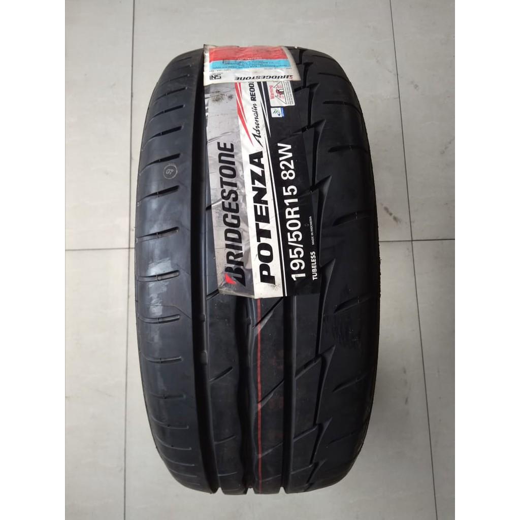 Bridgestone Potenza Adrenalin 195 50 R15 Ban Mobil Semi Slick Drag Ban Balap Shopee Indonesia