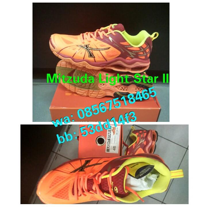 Sepatu Volley   Volly  Voli Mitzuda Light Star II ! 100% original ... 61df4e159a