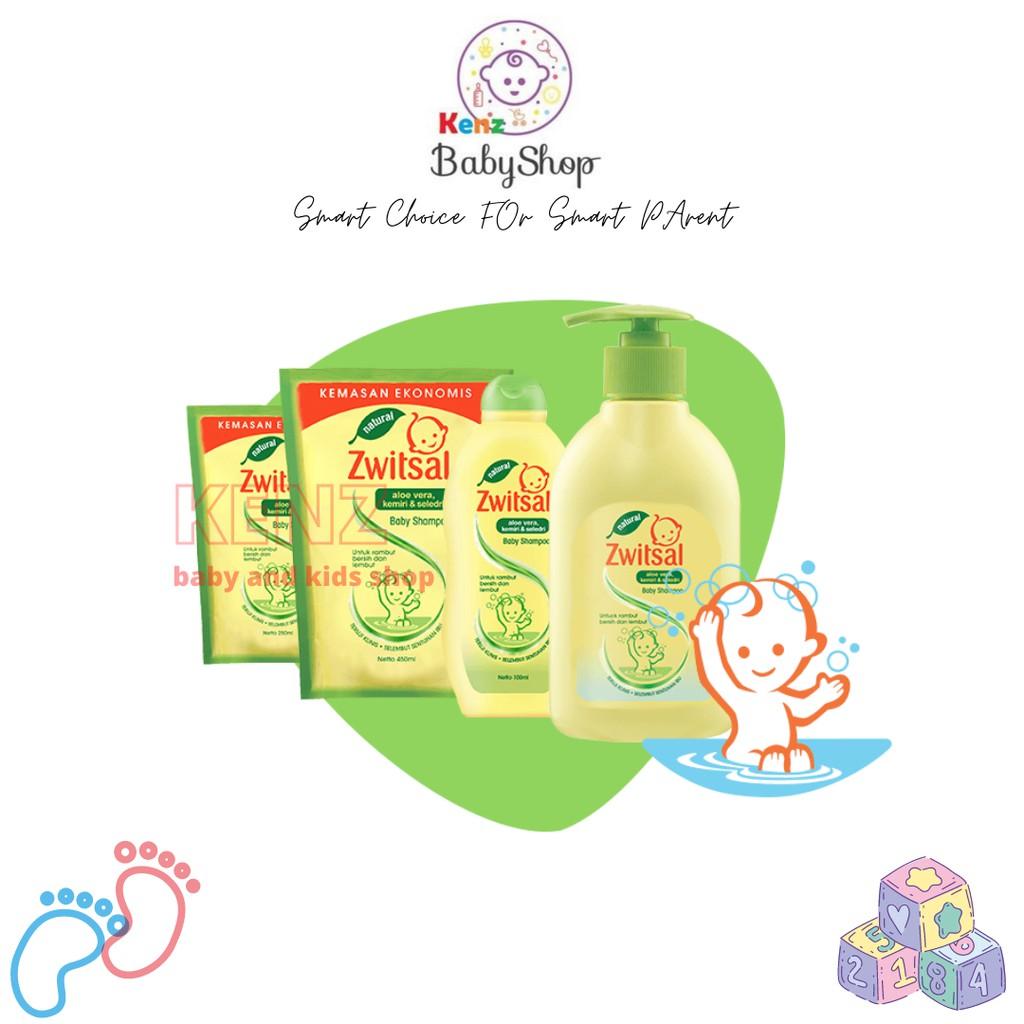 Zwitsal Natural Baby Shampoo Aloe Vera Kemiri dan Seledri