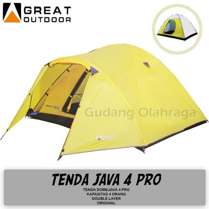 Tenda camping kapasitas 4 orang outdoor indoor / tenda kemping gunung / tenda dome   Shopee Indonesia