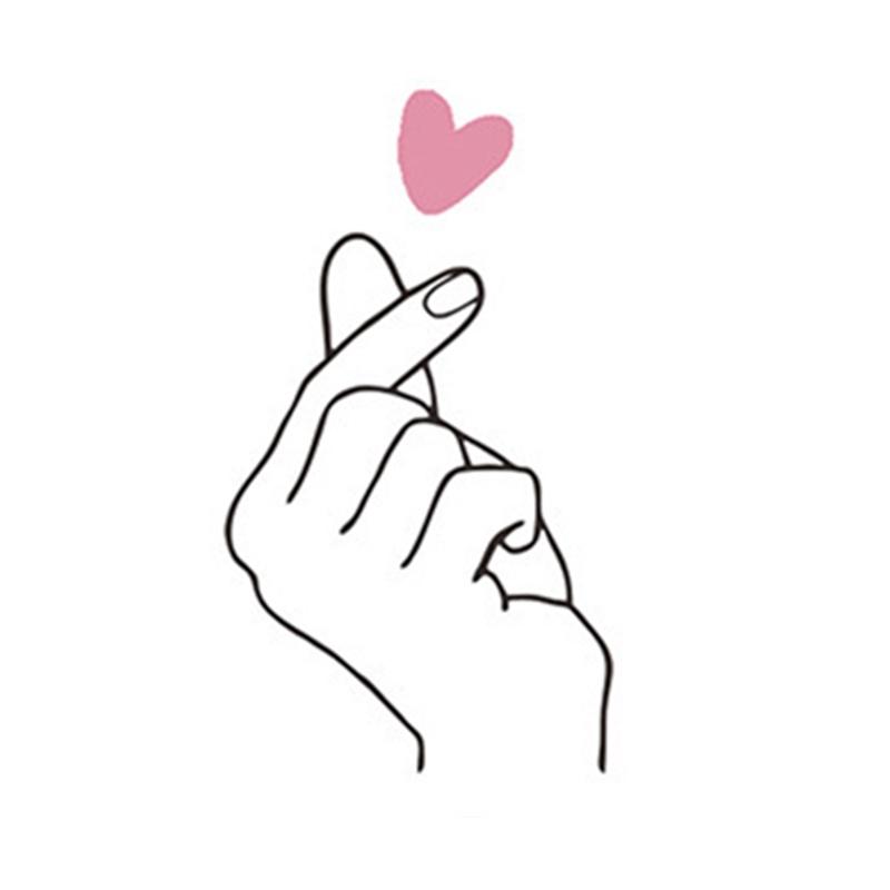 Gambar Tangan Love
