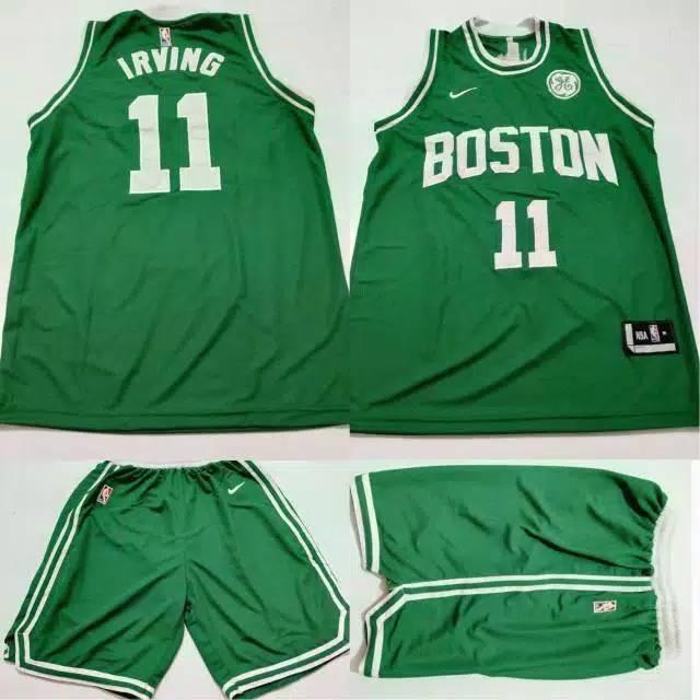 Jersey basket NBA Boston Celtic Kyrie Iriving Green  63e0bd695