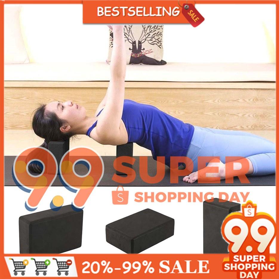 [Bayar Di Tempat]Alat Latihan: Bentuk Bata Blok Bahan Busa Untuk Alat Latihan Olahraga Yoga   Shopee Indonesia