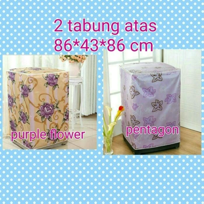 Sarung Mesin Cuci Cover 2 Tabung Buka Atas Anti Air Panas Tipe C. Source ... UNGU DAUN Buka Atas Anti Air Panas Tipe C. Source · Laundry .