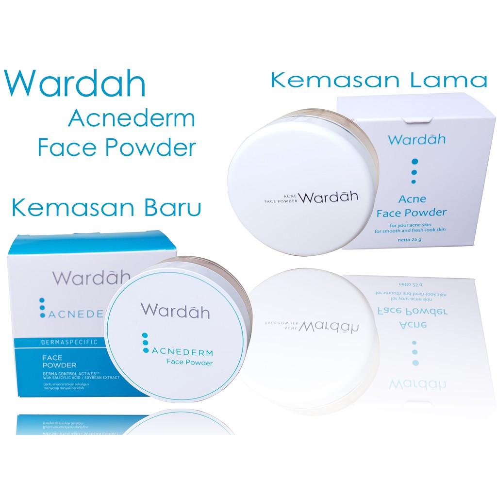 [ Kemasan Baru]Wardah Acne Face Powder/Wardah Acnederm Face Powder | Shopee Indonesia