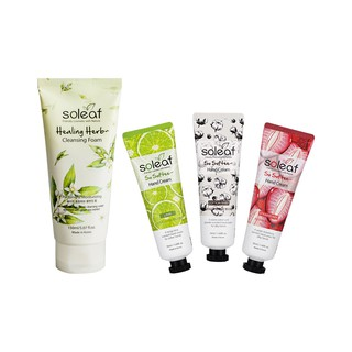 [BIG SALE 4pcs] Healing Herb Cleansing Foam+Hand Cream Lime+Strawberry+Cotton Baby thumbnail