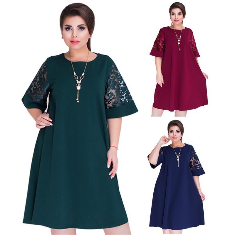 Dress Wanita Lengan Panjang Model Vintage Elegan Slim Versi Baru Poloss Tdk Ukuran Besar | Shopee Indonesia