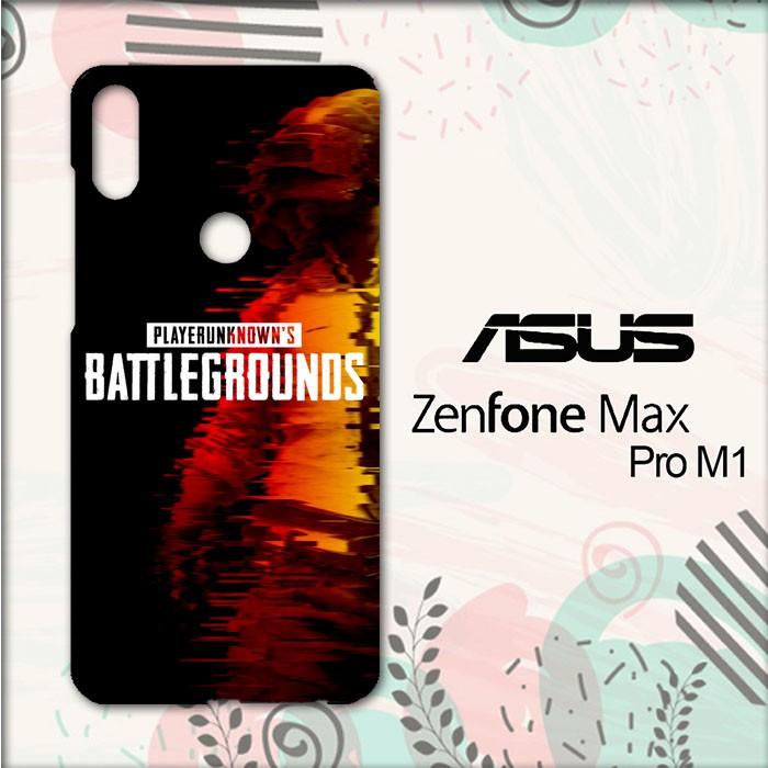 Casing Asus Zenfone Max Pro M1 Custom Hardcase Hp Pubg Wallpaper Glitch Li0400 Shopee Indonesia