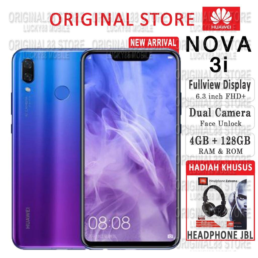 Huawei Nova 3i 4gb Ram 128gb Internal Garansi Resmi F9 F7 V9 2i Irish Purple Free Bluetooth Earphone Shopee Indonesia