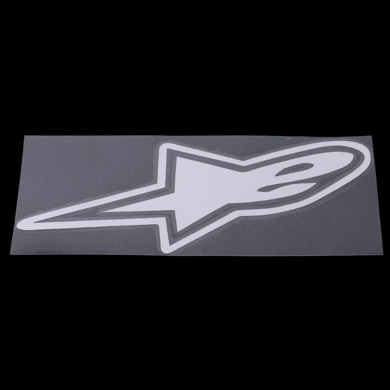 18x7.6CM Alpine Star Car Sticker Motorcycle Car Decoration Accessories Stickers