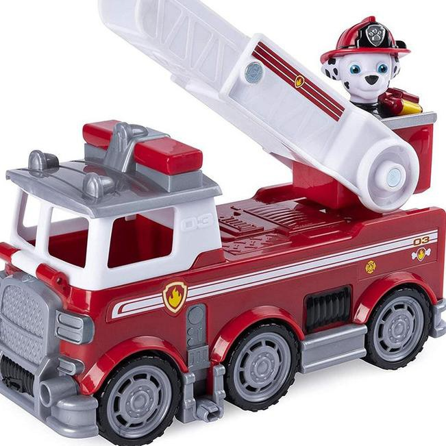 Produk Mqh Paw Patrol Marshall Fire Truck Ultimate Rescue With Figure Shopee Indonesia