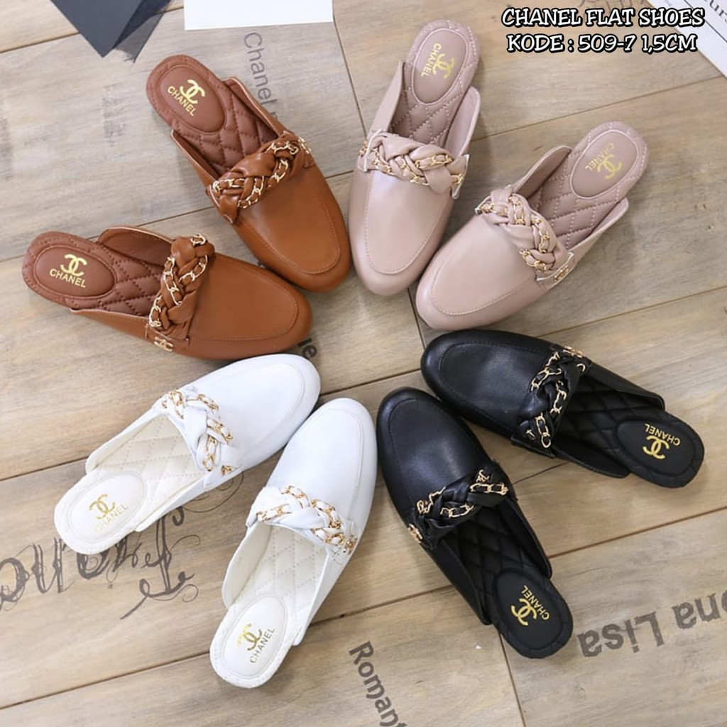 CHANEL LOAFERS SHOES 509-7  7da12acf4b