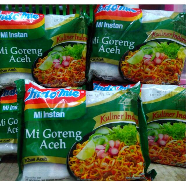 Indomie Mie Goreng Aceh 90 Gram Shopee Indonesia