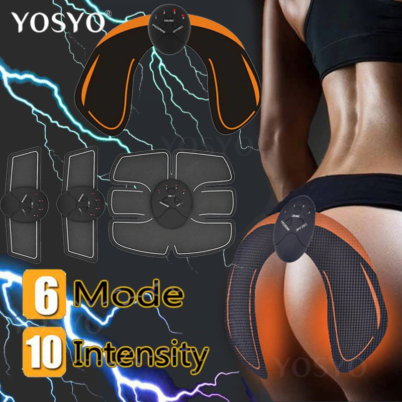 EMS Simulator Training Gear Body Abdominal Muscle Exerciser Hip Trainer Buttocks