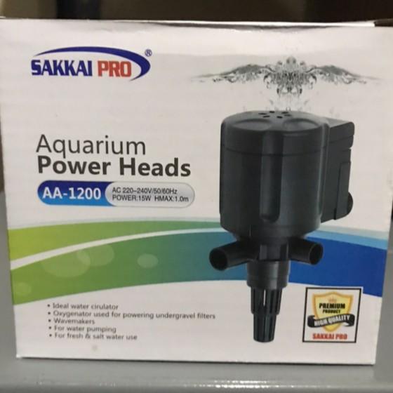 Pompa Aquarium Sakkai Pro AA 1200 - Mesin Pompa Air Celup ...