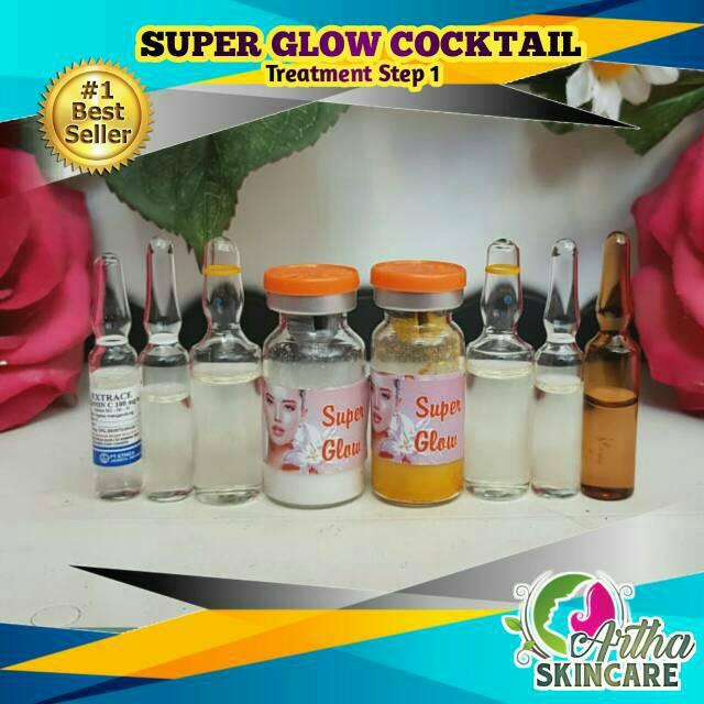 Paket Super Glow Resep Dokter Infus Injeksi Suntik Pemutih Shopee Indonesia