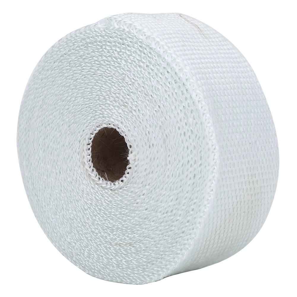 Exhaust Pipe Wrap,33FT White High Heat Insulation Exhaust Pipe Wrap Tape Cloth for Car Motorcycle