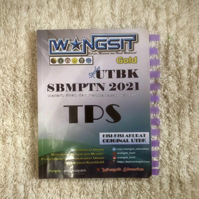 PRELOVED|  Buku Wangsit SBMPTN 2021 TPS & TKA Soshum