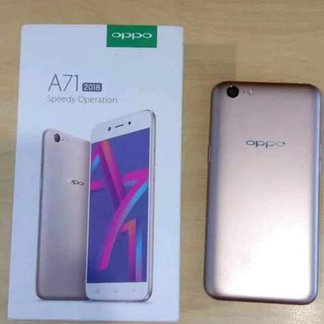 Handphone Oppo a71 second (bekas pakai) murah berkualitas.