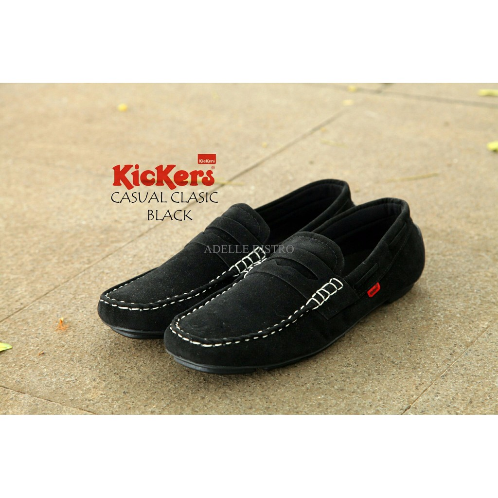 Kickers sepatu pria Kulit Asli model KR 018 Black. Source · Promo .