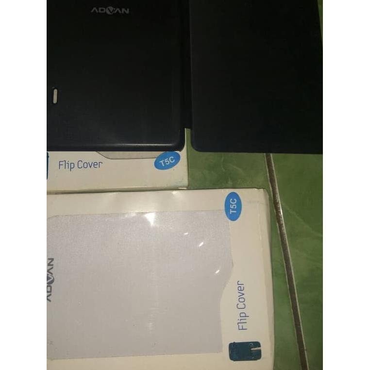 Terlaris / flip cover case advan original t5c Promo , ,