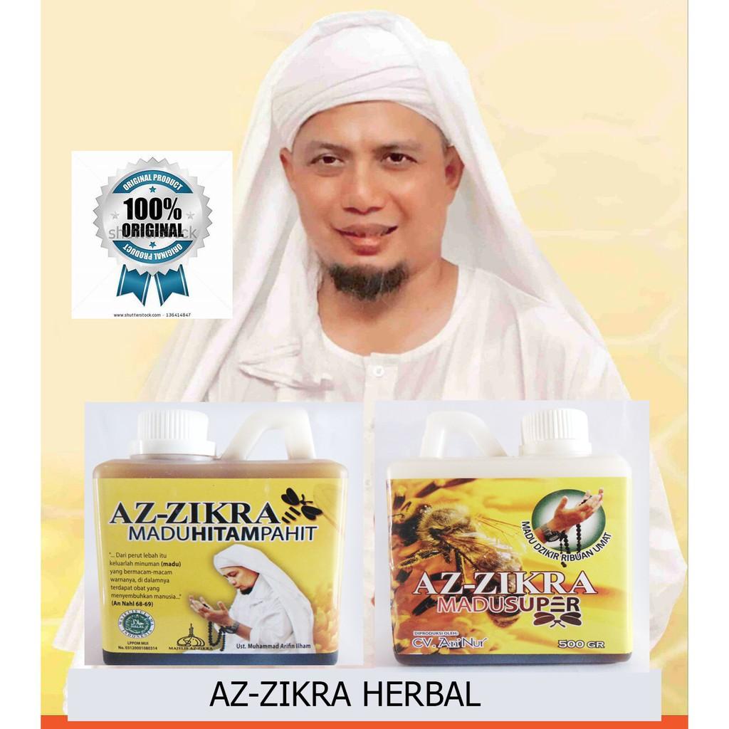Az Zikra Azzikra Madu Hitam Pahit 500 Gram Original Asli Di Jamin Shopee Indonesia