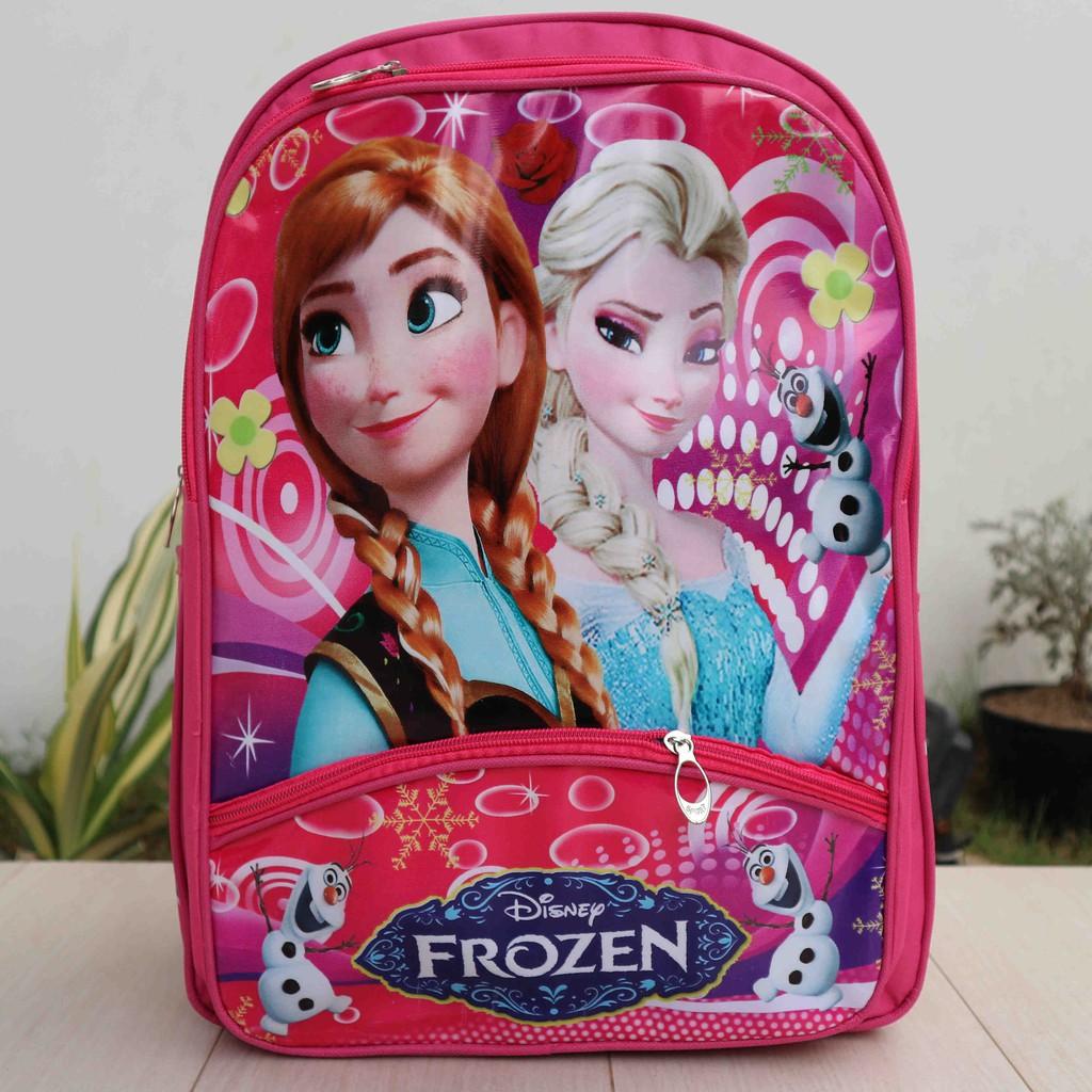 Tas Ransel Backpack Sekolah Anak Kecil Lucu Ban Gambar Frozen Manis