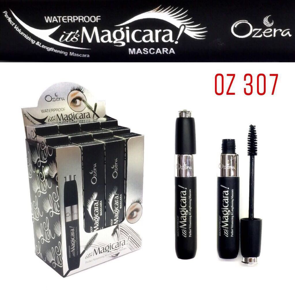 Mascara Ozera Maskara Waterproof Bpom Good Quality Shopee Indonesia Inez Lash Lengthening Black