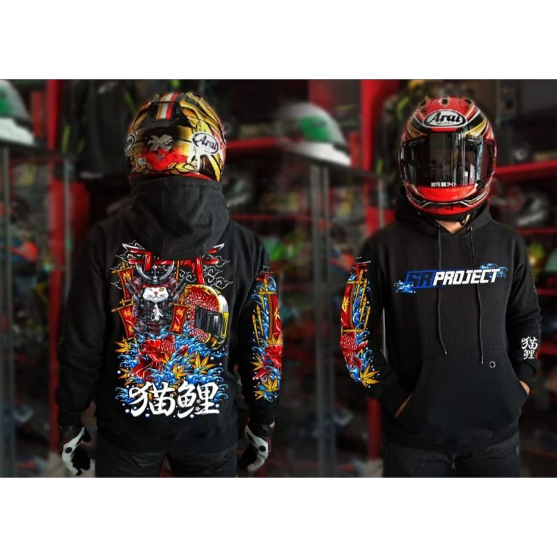 Hoodie kohaku hoodie japanese agv pista hoodie jepang hoodie sunmori ridding touring bikers keren