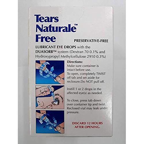 Alcon Tears Naturale Free Lubricant Eye Drops 32 Vial Obat Tetes Mata Shopee Indonesia