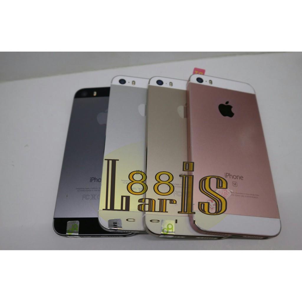 Jual Beli Produk Iphone Handphone Tablet Aksesoris New Se 64gb Garansi International Gold Silverwhite Shopee Indonesia