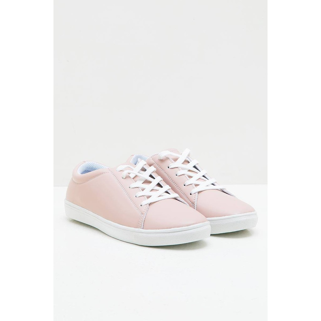 Amazara Evelyn Hazelnut Sneakers Shopee Indonesia Aurora Glossy Heels Cokelat Muda 38