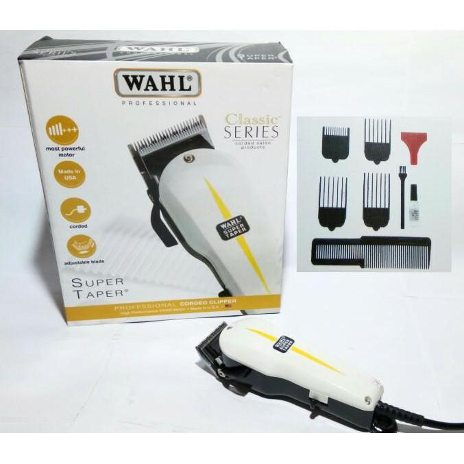 WAHL SUPER TAPER CLASSIC SERIES   PEMANGKAS RAMBUT HAIR CLIPPER   ALAT  CUKUR RAMBUT LISTRIK  9f482509d1