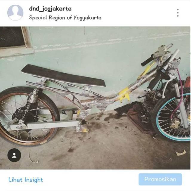 Frame Rangka Drag Modif Jupiter Vega Fiz R Shopee Indonesia