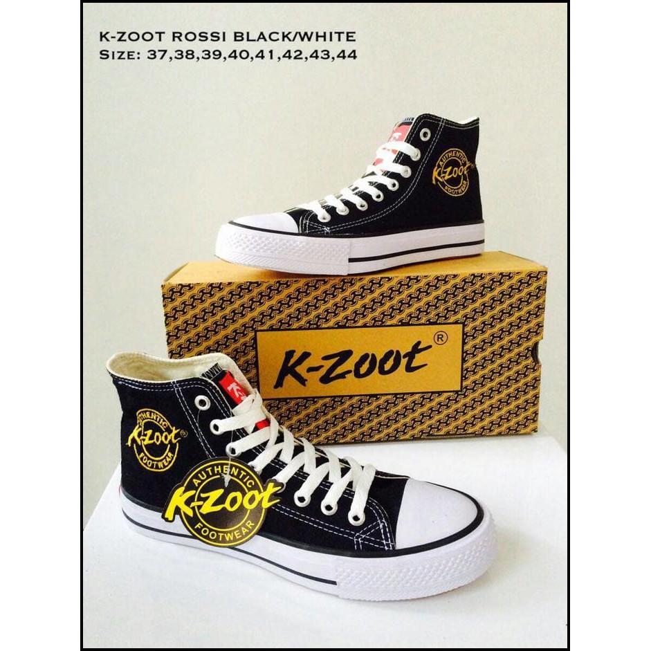 Sepatu Sekolah K Zoot Rossi B W Shopee Indonesia Warrior